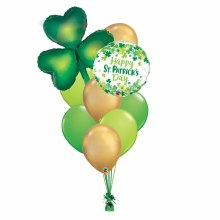 St. Patricks's Day Balloon Bouquet ~ Large