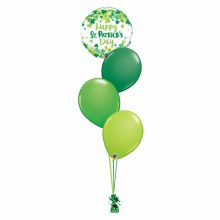 St. Patrick's Day Balloon Bouquet ~ Small