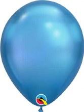 """Blue ~ Chrome Finish 11"""""""