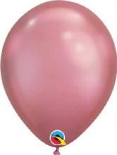 "Pink Muave ~ Chrome Finsih 11"""