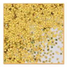 Confetti Gold Holog Stars