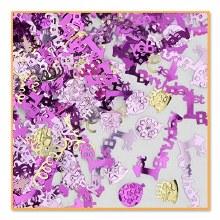 Confetti 1st Birthday Pink