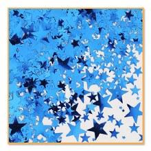 Confetti Blue Stars