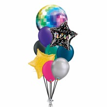 Balloon Bouquet ~ Disco New Year