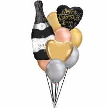 Balloon Bouquet Elegant Valentine