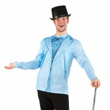 Faux Real Tux Blue Adult Med