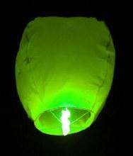 Flying Sky Lantern Green