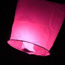 Flying Sky Lantern Pink