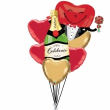 Balloon Bouquet Formal Valentine