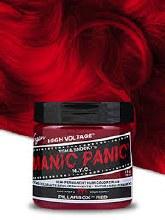 ManicPanic Hair Dye Pillarbox Red 4oz