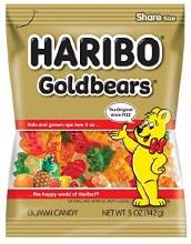 Candy Haribo Gummy Bears