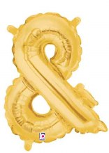 "14"" Gold Juniorloon Symbol &"