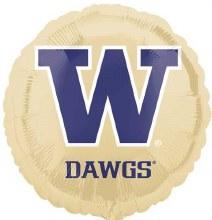"University of Washington Huskies ~ 18"""