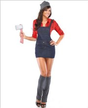 Lumberjack Lady S/M