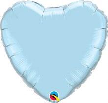 """Blue Light Heart ~ 18"""""""