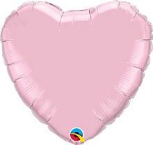 """Pink Light Heart ~ 18"""""""