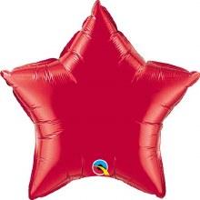 "Star ~ 20"" Red"