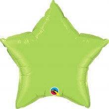 """Star ~ 20"""" Lime Green"""