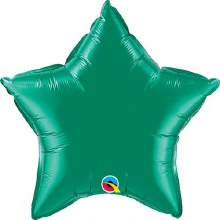 "Star ~ 20"" Emerald Green"