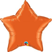 "Star ~ 20"" Orange"