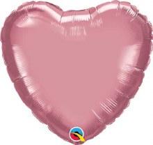 MYLR Heart Chrome Mauve