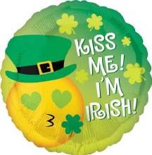 """Kiss Me I'm Irish ~ 18"""""""