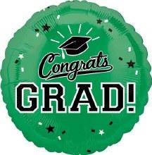 """Congrats Grad ~ GREEN 17"""""""