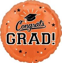 "Congrats Grad ~ ORANGE 17"""