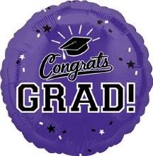 "Congrats Grad ~ PURPLE 17"""