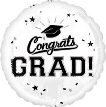 """Congrats Grad ~ WHITE 17"""""""