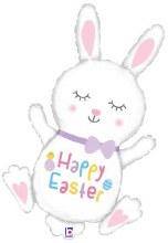 """Jumbo Happy Easter Hopping Bunny ~ 38"""""""