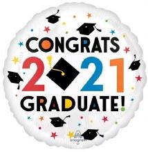 """Congrats 2021 Graduate ~ 17"""""""