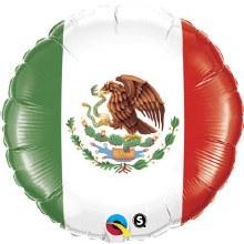 Blln Foil 18in Mexico Flag