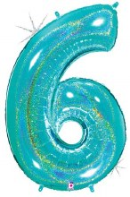 Megaloon Robin Blue Number 6