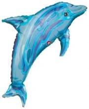"""Jumbo Dolphin Blue ~ 27"""""""