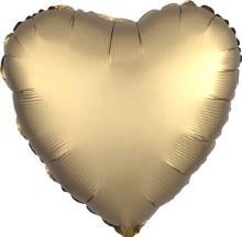 MYLR Heart SN CHRM GD 17in