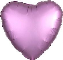 MYLR Heart SN Flmngo PK 18in