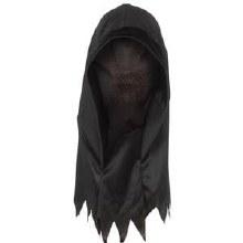 Mask Shrouded Hood Blk
