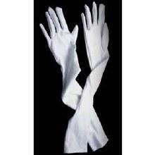 Gloves White 19in