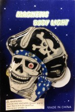 Pirate Blinky Pin