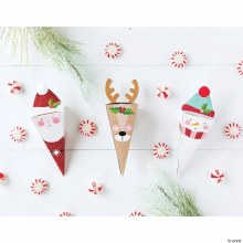 Holly Jolly Favor Boxes ~ 10 Pack