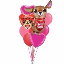 Balloon Bouquet Puppy Love