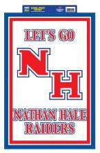 """Natan Hale Raiders Sign 20"""" x 14"""""""