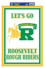 """Roosevelt Rough Riders Sign 20"""" x 14"""""""