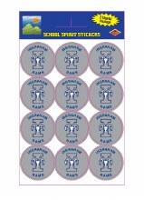Ingraham Rams Sticker Pack 24ct