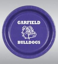 "Garfield Bulldogs 9"" Plates 8ct"