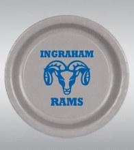 """Ingraham Rams 9"""" Plates 8ct"""