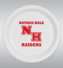 "Nathan Hale Raiders 9"" Plates 8ct"