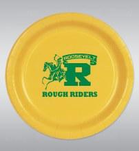 "Roosevelt Rough Riders 9"" Plates 8ct"