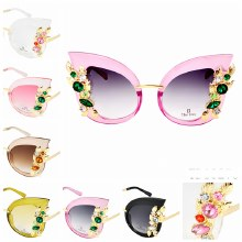 Sunglasses Cat Eye XLrg Gems